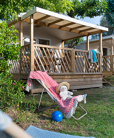 Camping Giens Loggia MOBILE HOME